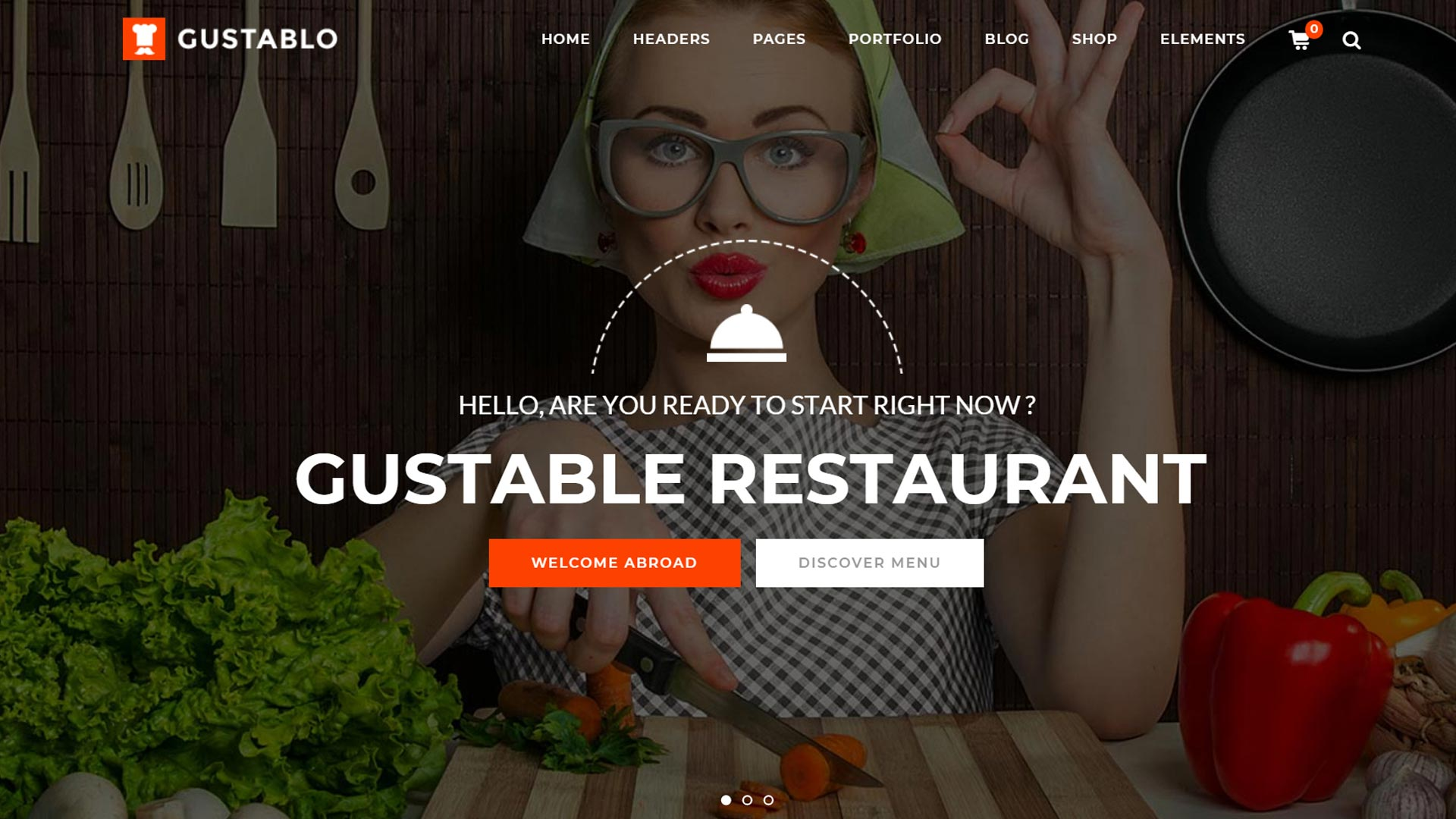 создание сайтов для ресторанов